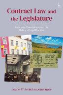 Contract Law and the Legislature Book