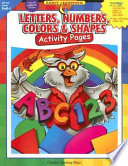 Letters Numbers Colors Shapes Activity Pages Ebook