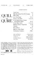 Quill & Quire