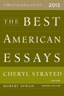 The Best American Essays 2013 Pdf/ePub eBook