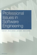 Professional Issues in Software Engineering