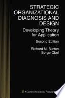 Strategic Organizational Diagnosis and Design Book