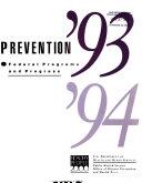 Prevention     1993 94 Book