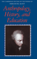 Anthropology  History  and Education
