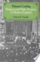 Religion and Public Doctrine in Modern England: Volume 2