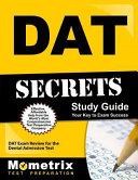 Dat Secrets Study Guide