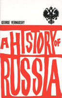 A History of Russia Book