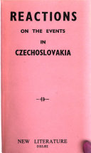 Reactions on the Events in Czechoslovakia