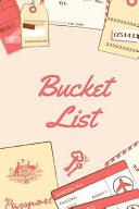 Travel, Bucket List Journal