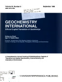 Geochemistry International Book