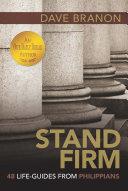 Stand Firm Pdf/ePub eBook