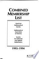 Combined Membership List