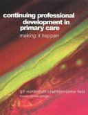 Continuing Professional Development in Primary Care