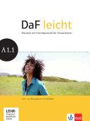 DaF leicht / Kurs- und Übungsbuch + DVD-ROM