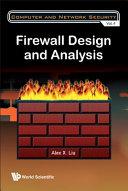 Firewall Design and Analysis
