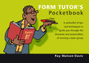 Form Tutor's Pocketbook