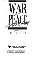War and Peace Making