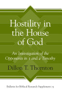 Pdf Hostility in the House of God Telecharger