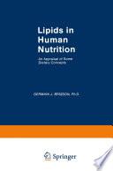 Lipids in Human Nutrition