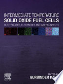 Intermediate Temperature Solid Oxide Fuel Cells Book PDF