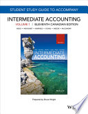 Study Guide to Accompany Intermediate Accounting, Eleventh Canadian Edition