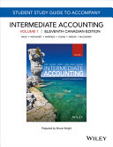 Study Guide to Accompany Intermediate Accounting  Eleventh Canadian Edition