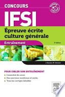 Concours Ifsi Epreuve Écrite Culture Générale