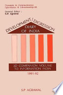 Development Digression Diary Of India 3d Companion Volume To Information India 1991 92