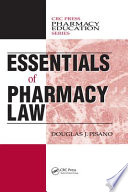 Essentials of Pharmacy Law Book