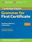 Grammar for First Certificate