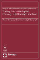 Trading Data in the Digital Economy