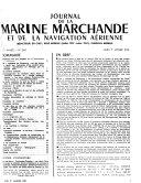 Journal de la marine marchande et de la navigation aérienne