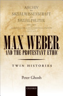 Max Weber and 'The Protestant Ethic'