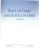 State of Crime and Justice in Ohio Book