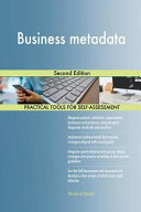Business Metadata Second Edition