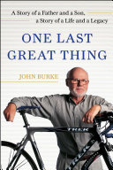 One Last Great Thing Pdf/ePub eBook