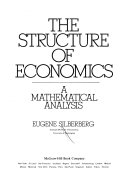 Cover of The Structure of Economics