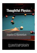 Impulse and Momentum - Thoughful Physics [Pdf/ePub] eBook