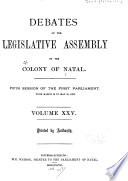 Minutes And Votes And Proceedings Of The Parliament With Papers Presented To Both Houses