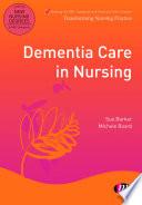 Dementia Care In Nursing Book PDF