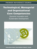 Pdf Technological, Managerial and Organizational Core Competencies: Dynamic Innovation and Sustainable Development Telecharger