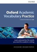 Oxford Academic Vocabulary