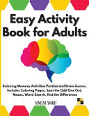 Easy Activity Book for Adults