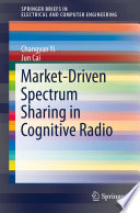 Market Driven Spectrum Sharing in Cognitive Radio