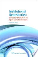Institutional Repositories Book