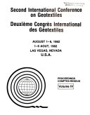 Second International Conference on Geotextiles