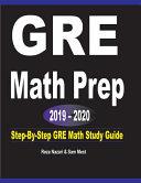 GRE Math Prep 2019   2020