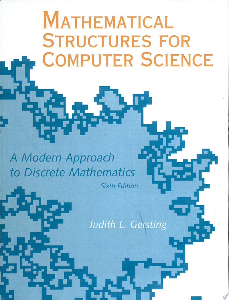 Mathematical Structures for Computer Science banner backdrop