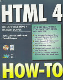 HTML 4 How-to