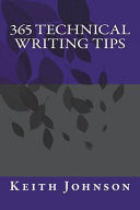 365 Technical Writing Tips